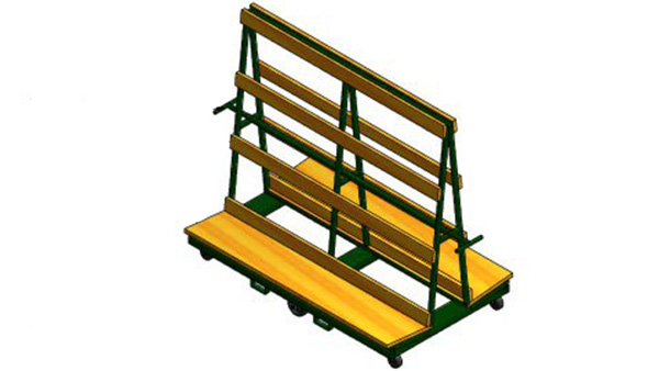 Screen Storage Racks : A type shipping racks wakefield equipment